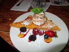 Lemon Tart from Chef Mark Ellman's Honu in #Lahaina, #Maui #PracticeAloha #food