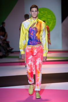 Versace Men's Collection Spring Summer 2014