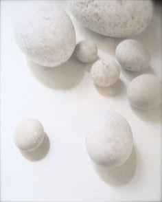 White stones by geishaboy500, via Flickr
