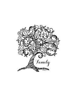 Family tree inspiration zentangle art drawings pen and тату семейное дерево, Small Wrist Tattoos, Tattoos For Women Small, Banksy, Family Tree Drawing, Tattoo Son, Type Tattoo, Deer Tattoo, Raven Tattoo, Oak Tree Tattoo