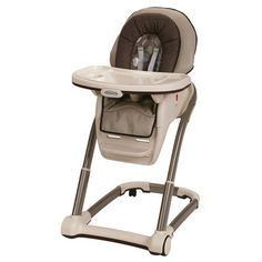 Graco Blossom 4-in-1 High Chair - Roundabout