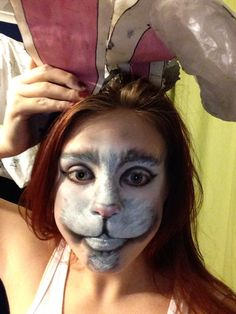 The White Rabbit Makeup from Alice in Wonderland xx