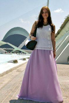 Picnic in CAC 18-8-2014 #kissmylook Top: Lolailo shop;  Falda / Skirt: Barbara Torrijos;  Pulsera / Bracelet: Bali Clicks