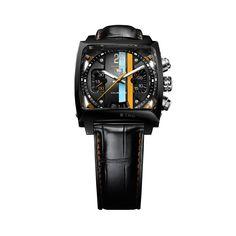 Copia Tag Heuer Monaco 24 calibre 36 cronografo automatico reloj CAL5110.FC6265