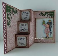 From My Craft Room: Template for 3-Step Card (6 x 6) - front facing