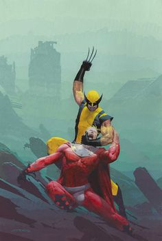 Wolverine vs. Magneto