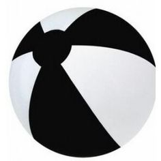 Black And White Inflatable Ball