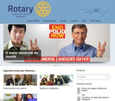 The Rotary Club of São Paulo Morumbi has updated their website to reflect Rotary's visual identity. http://www.rotarymorumbi.org.br/