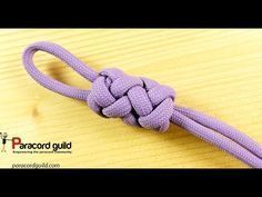 Paracord Lanyard: Double Cobra and Ringbolt Hitch Viceroy - YouTube