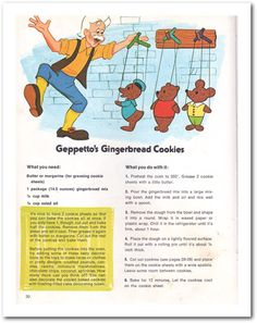 Geppetto's Gingerbread Cookies