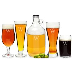 Craft Beer 5-piece Party Glassware Set | Overstock.com