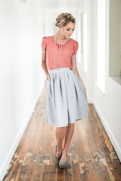 Pleated Skirt - MSS17204