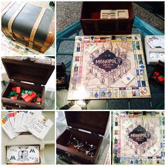 ***Leads to an article showing lots of HP Monopoly versions Monopoly Harry Potter, Bijoux Harry Potter, Décoration Harry Potter, Harry Potter Bedroom, Harry Potter Halloween, Harry Potter Christmas, Harry Potter Birthday, Hogwarts, Harry Potter Accesorios