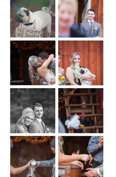 Rustic barn wedding. Minson Photography