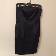 Express Design Studio Strapless Dress Little Black Dress Express Dresses Mini