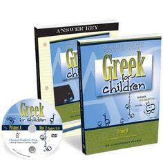 Greek for Children, Primer A Program