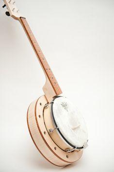Banjo ukulele banjolele by celentanowoodworks on Etsy