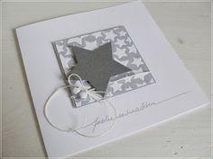 Wie versprochen kommt hier noch was Kreatives - wie könnte es anders sein, ein paar Weihnachtskarten.                                 ...