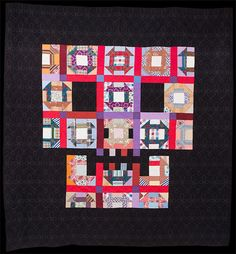"""Churn Crash"" quilt by Boo Davis of Quiltsrÿche. www.quiltsryche.com :: interpretation of an all-time favorite pattern."