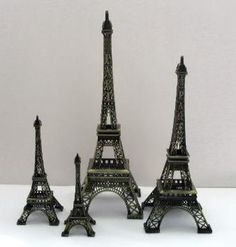 decorative eiffel towers eiffel tower centerpieceswire eiffel towers. Interior Design Ideas. Home Design Ideas