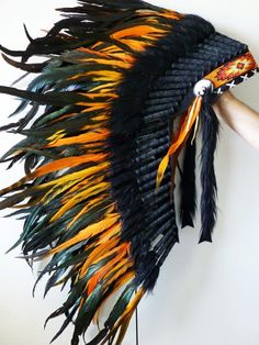Orange headdress- Don't read into this people