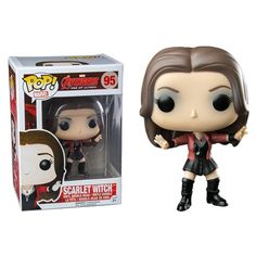 (affiliate link) Avengers Age of Ultron Scarlet Witch Pop! Vinyl Bobble Head Figure