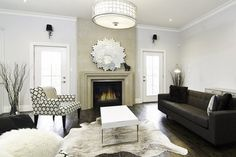 decorating with cowhide rugs tips ideas living room decorating tips