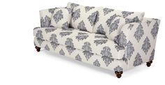 Elliott 3 Seater Sofa, Fleur De Lys Blue