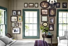 painted window frames