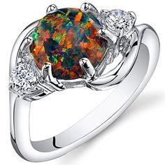 Created Black Opal Ring Sterling Silver 3 Stone 1.75 Carats Sizes 5 to 9, http://www.amazon.com/dp/B00MJ4VYBE/ref=cm_sw_r_pi_awdm_EN.iwb0QKMYNM