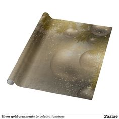 Sold #gold #ornaments #wrappingpaper Available in different products. Check more at www.zazzle.com/celebrationideas