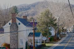 The main street in adorable Sperryville, Virginia. Click to see more.