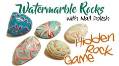 Painted Rocks - Wate