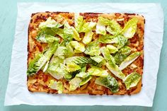 There's a time to eat salad with your pizza, and then there are those times when salad is best eaten on your pizza. Right now it's time for the latter, when the flavors of Caesar salad and pizza team up and join forces for a delicious take on a quick weeknight dinner, or even a unique topping combination for your next pizza party.