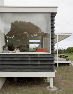 extended parsonson residence exterior window bay