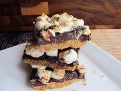 No Bake Indoor Smores Bars #Recipes #Trusper #Tip