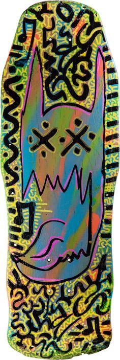 skateboard streetart