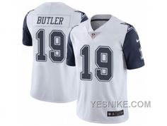 http://www.yesnike.com/big-discount-66-off-mens-nike-dallas-cowboys-19-brice-butler-limited-white-rush-nfl-jersey.html BIG DISCOUNT ! 66% OFF ! MEN'S NIKE DALLAS COWBOYS #19 BRICE BUTLER LIMITED WHITE RUSH NFL JERSEY Only $26.00 , Free Shipping!