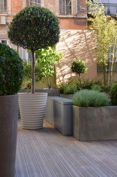 Slowgarden terrace for Louis Vuitton, France.
