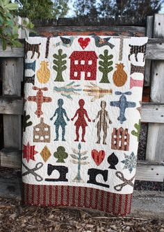 Join us for this great appliqué project. 1852 Coverlet Memories