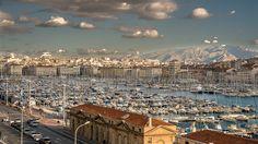 Marseille vieux port by Julien frerejean, via Flickr