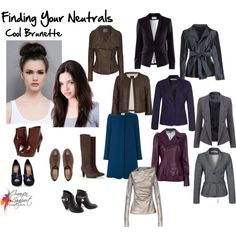 Finding Your Neutrals - cool Brunette by imogen laport