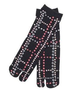 Criss Cross Flower Women 5 Inch Cuff Tabi Socks by Kurochiku. $11.99. Import from Japan. Women US 6-9. Cotton, Polyester, Polyurethane. Machine Washable. 5 Inch Cuff. Introducing our most popular line from the Kurochiku line, the tabi socks! With over 50 Japanese kimono print designs for men and women, discover what our customers are raving about.