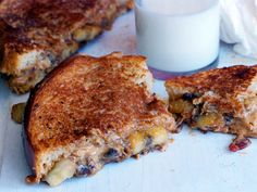 """Bacon, peanut butter and banana sandwich, flambeyed with honey. """"So good you'll question all your pre-conceived notions of food."""""""