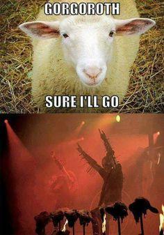 Black metal humor...evil m/