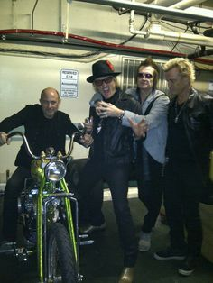 John Varvatos Matt Sorum Glenn Hughes Billy Idol in Hollywood Saturday March 9th, 013