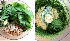 Wild Nettle Pesto Communal Kitchen, Kitchen Recipes, Avocado Toast, Pesto, Cabbage, Vegetables, Food, Vegetable Recipes, Eten