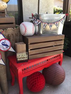 Distinctive Party Designs 's Baby Shower / Baseball - Photo Gallery at Catch My Party Shower Party, Baby Shower Parties, Baby Boy Shower, Baby Showers, Bridal Shower, Baseball First Birthday, Baby Boy 1st Birthday, Baseball Party, Base Ball