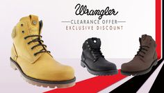 Shop for trendy Wrangler Boots online at Hytrend.com. Hurry! Shop now to upgrade your footwear collection.. Click to checkout : http://hytrend.com/sale/deals.html