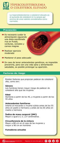 Hipercolesterolemia o colesterol elevado
